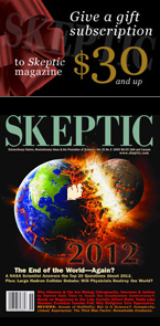 Give a gift Subscription to Skeptic magazine