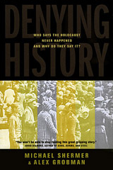 book cover: Denying History