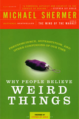 book cover: Why People Believe Weird Things
