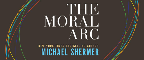 The Moral Arc (book cover details)